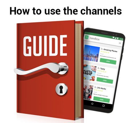 How to Use the Channels Feature in nandbox Messenger