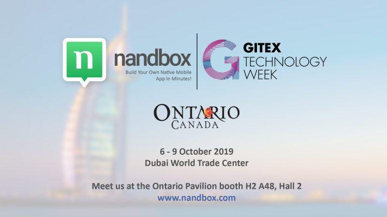Read more about the article nandbox Exhibits at GITEX Technology Week 2019