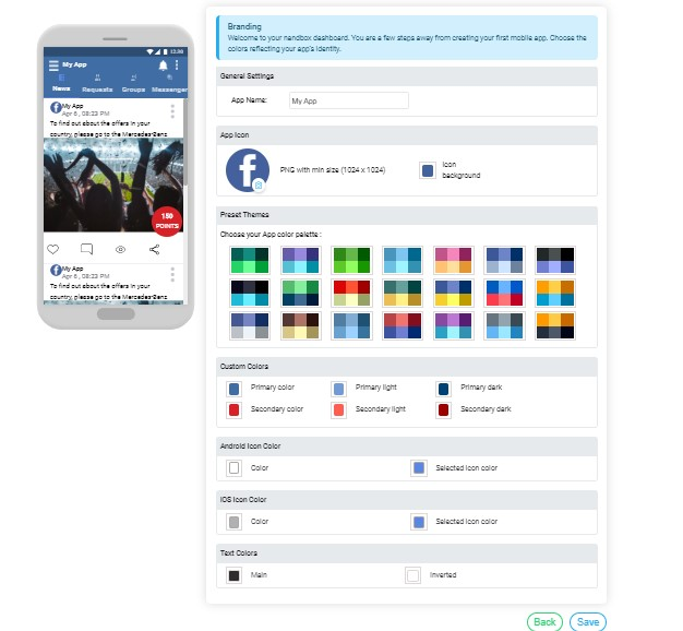 Personalize Your App