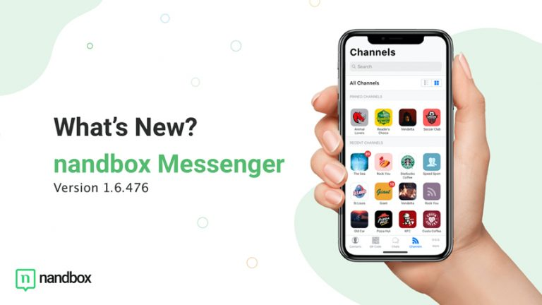 nandbox Messenger for iOS – Version 1.6.476: What's New?