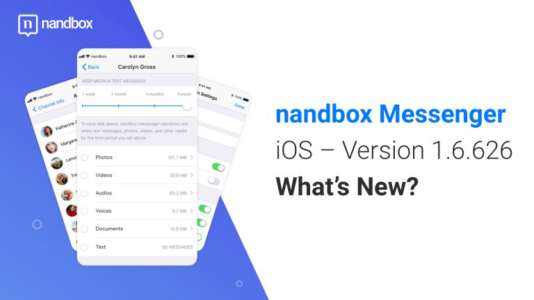 Read more about the article nandbox Messenger for iOS – Version 1.6.625: What's New?